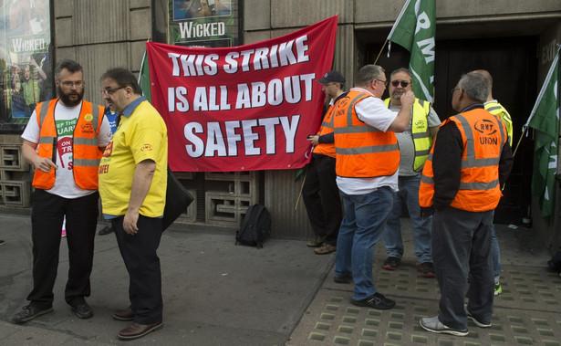 Strajk kolejowy w Wielkiej Brytanii