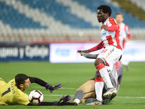 El Fardu Ben je najefikasniji fudbaler Zvezde u šampionatu