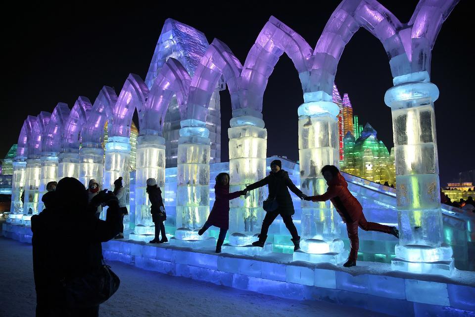 Międzynarodowy Festiwal Śniegu i Lodu (2014)