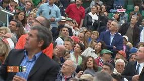 Intruz z flarą przerwał finał French Open