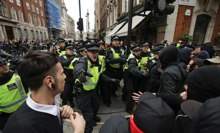 Zamieszki w Londynie. Poszło o Muzułmanów