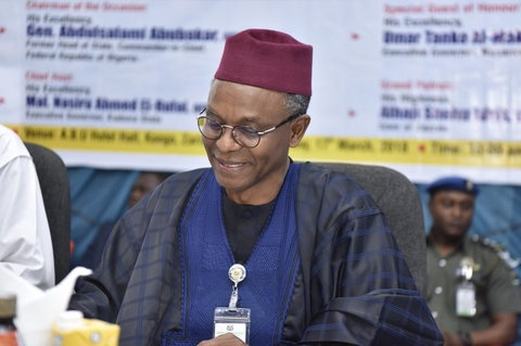 Nasir El-Rufai also won re-election as Kaduna State governor