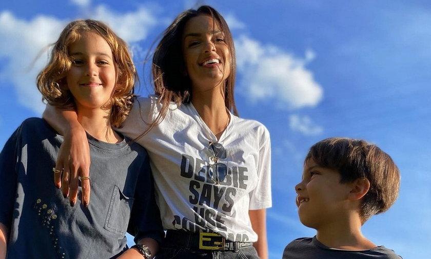 Klaudia El Dursi z synami