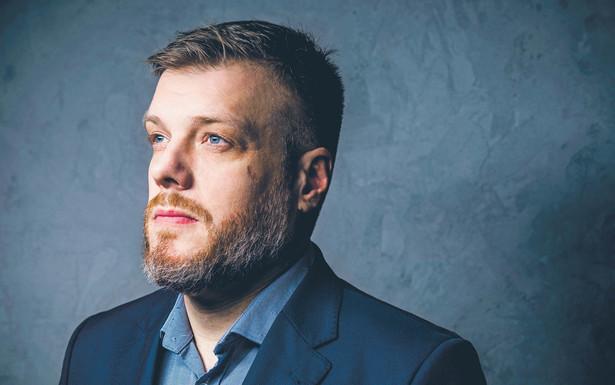 Adrian Zandberg poseł Koalicyjnego Klubu Parlamentarnego Lewicy, członek Zarządu Krajowego partii Razem fot. Arek Markowicz