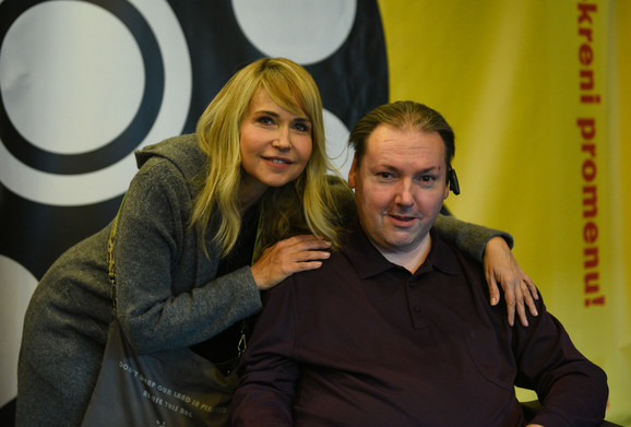Anica Dobra i Darko Ivić