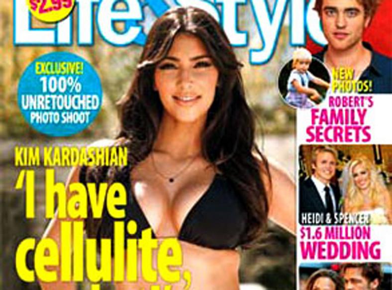 Kim Kardashian całkiem bez retuszu!