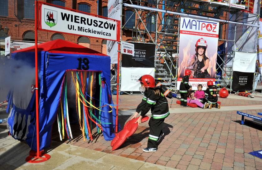 mali strażacy z Wieruszowa