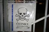 Ambasada Srbije Sarajevo plakat mrtvacka glava