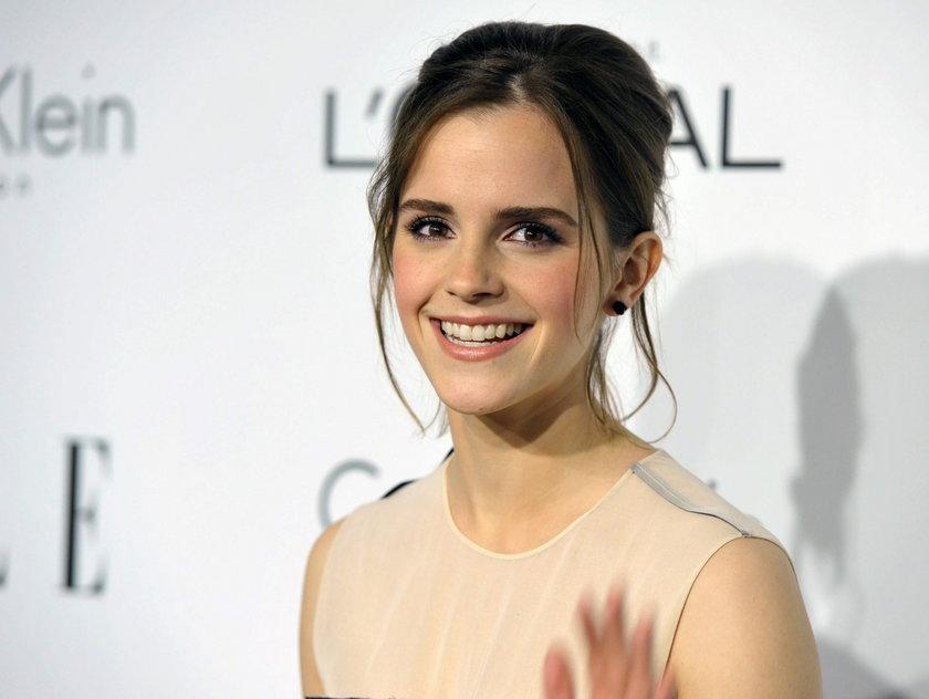 Emma Watson uśmiechnięta