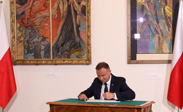 Prezydent Andrzej Duda w wywiadzie dla DGP zapowiedział, że rozważa weto w sprawie ordynacji do PE