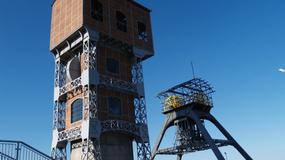 Świętochłowice - wieże wyciągowe KWK Zgoda po renowacji i gotowe do otwarcia