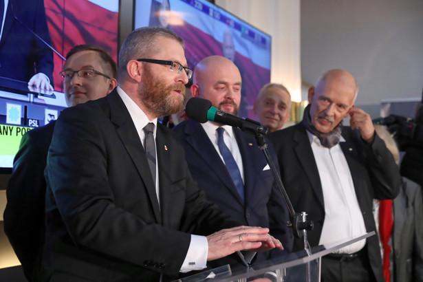 Janusz Korwin-Mikke, Grzegorz Braun, Jakub Kulesza, Bartłomiej Pejo