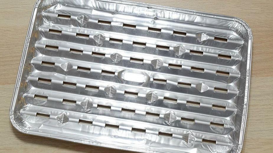 Aluminiowa tacka na grilla