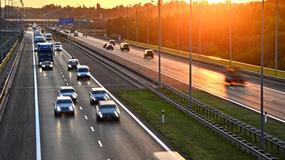 Dużo wypadków na autostradach i ekspresówkach