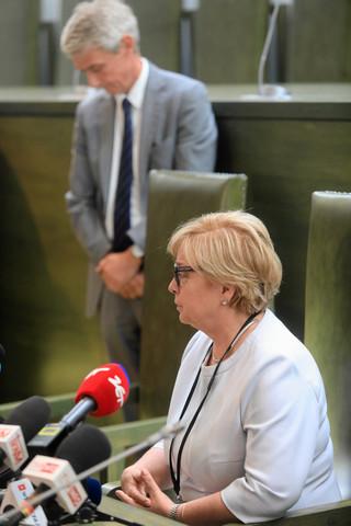 Iwulski: Sędzia Gersdorf ma po urlopie wrócić na stanowisko