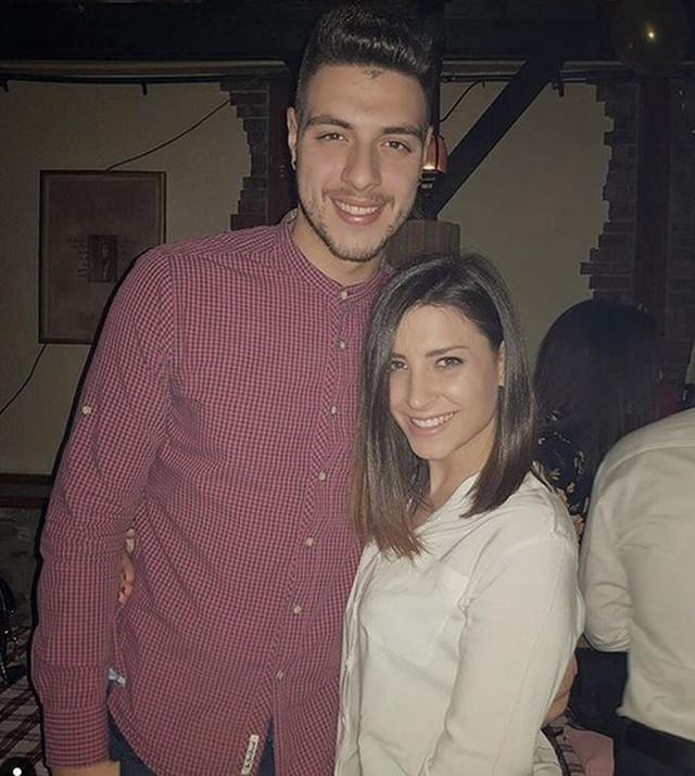 Aleksa Savić i devojka