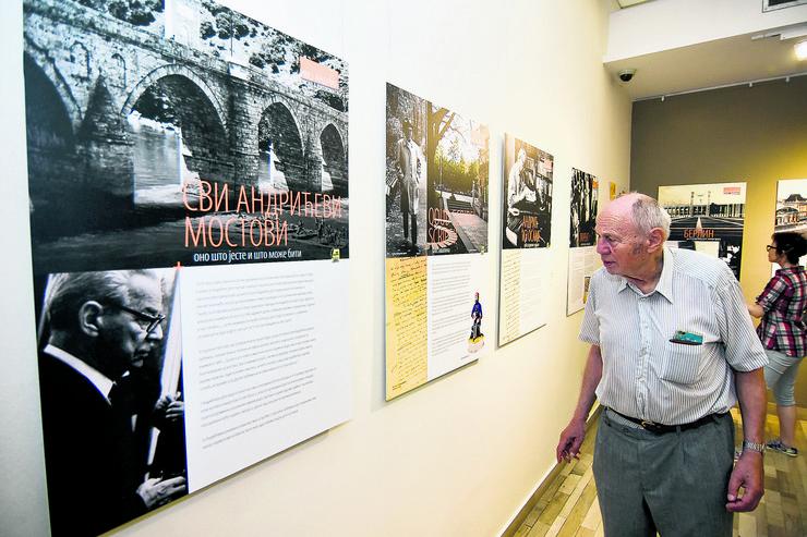 Novi Sad096 izlozba Ivo Andric i Pavlje Beljanski diplomate i darodavci foto Nenad Mihajlovic