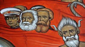 Marks, Engels i Tito... smażą się w piekle na fresku w Podgoricy