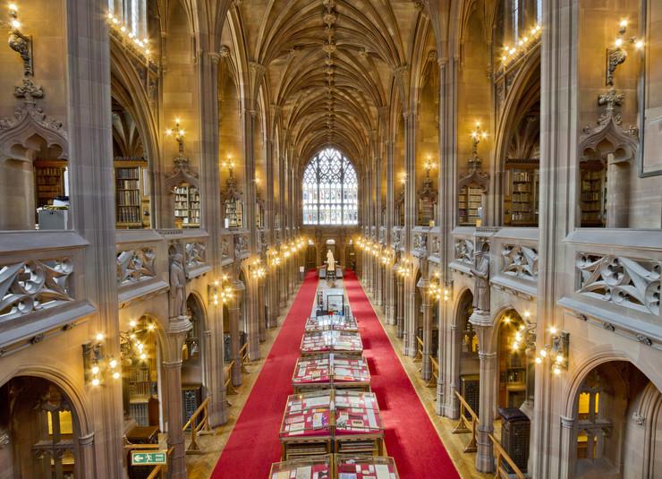 najlepse biblioteke25 John Rylands Library in Manchester foto Flickr Michael D Beckwith