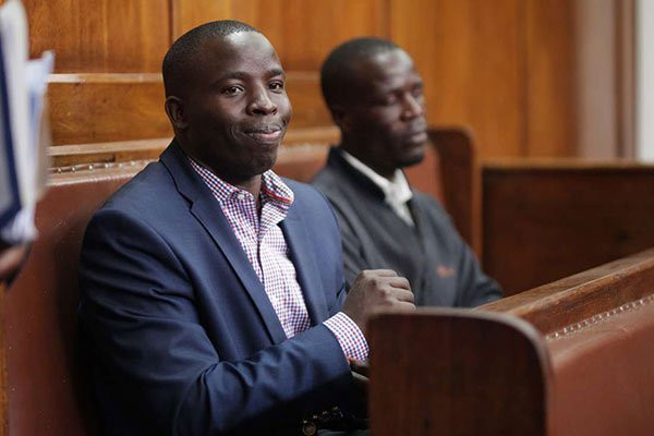 Nandi Governor Stephen Sang during court appearance on June 11, 2019 where he denied three charges of malicious damage to property, incitement to violence and abuse of office