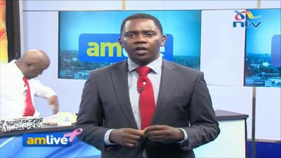 Fired NTV News Anchor Debarl Inea sparks wild reactions with his Goodbye message