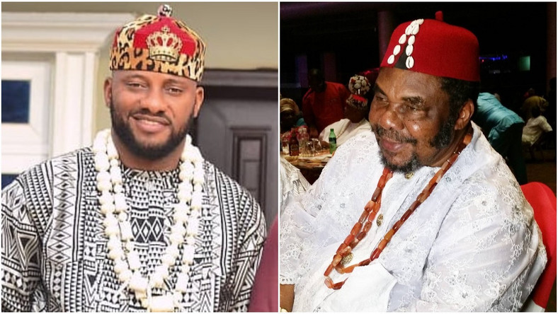 For many, they wondered how he was able to approach Pete Edochie, a highly respected and fierce-looking man. [Instagram/YulEdochie] [Instagram/PeteEdochie]
