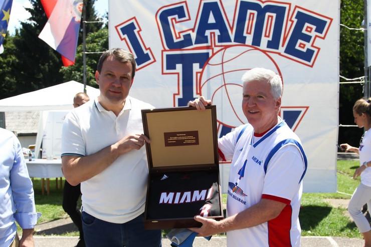 Igor Mirović, Kajl Skot, Košarkaški kamp