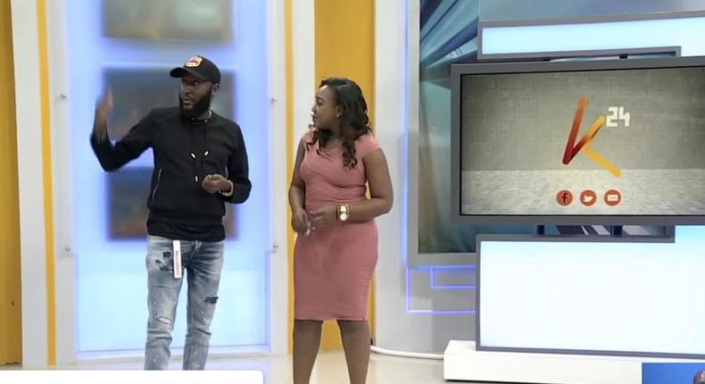 Shaffie Weru makes debut on K24 TV's Weekend with Betty [Video]