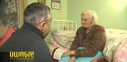 """""""Ja już nie mam nadziei"""". Starsza kobieta pozostawiona bez jedzenia i ciepłej wody"""