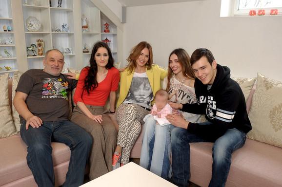 Đorđe Balašević sa porodicom