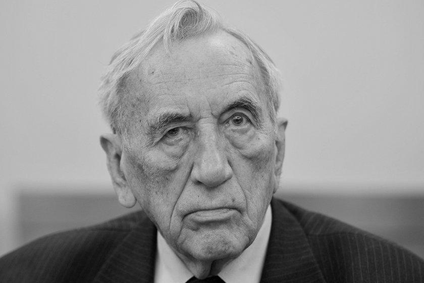 Tadeusz Mazowiecki nie żyje