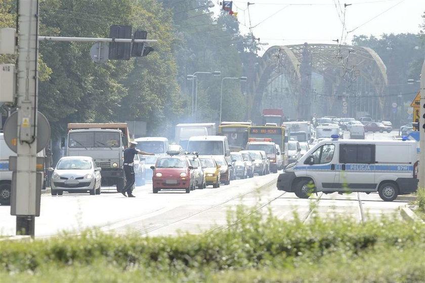 Terrorysta sparaliżował Wrocław!