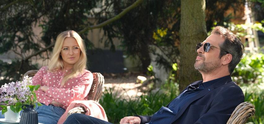 """""""M jak miłość"""". Odc. 1611. Leszek zaręczy się z Luizą. Co na to Asia? Czy naprawdę jest w ciąży z Michałem?"""