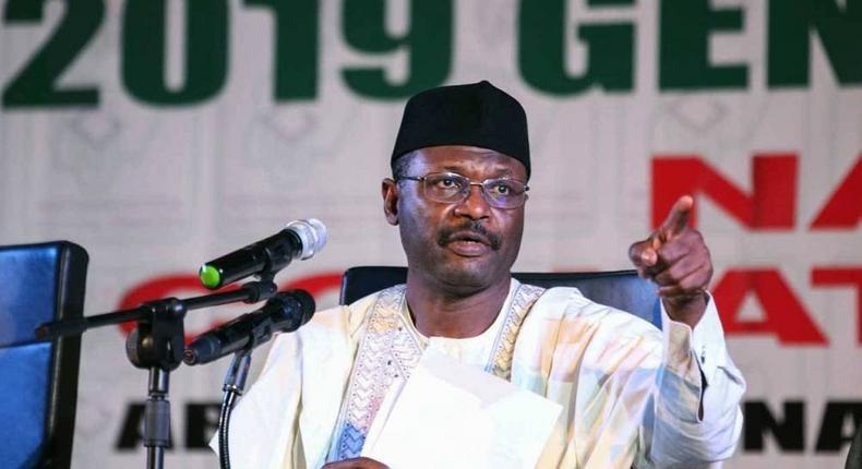 INEC chairman, Prof. Mahmood Yakubu [Guardian]
