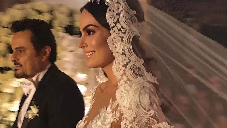 Ślub byłej Miss Universe Ximeny Navarrete