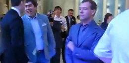 Prezydent Rosji tańczy. Ma talent?