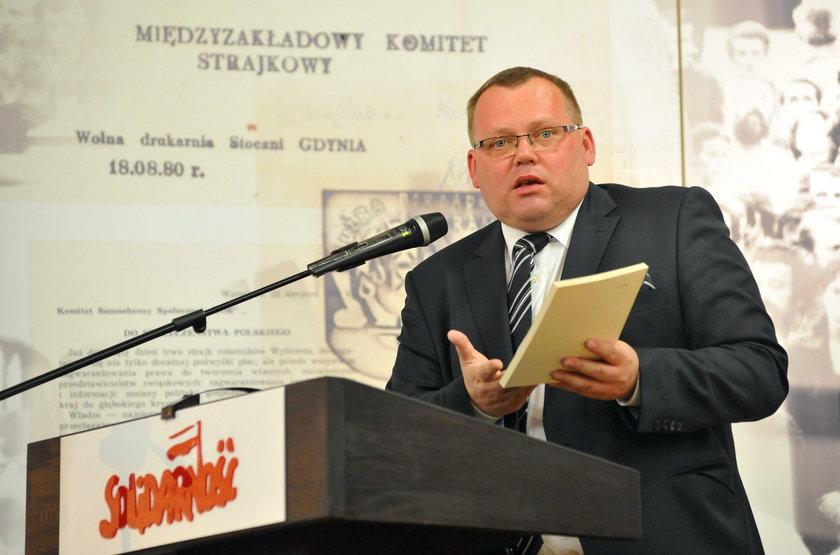 Jaros?aw Kaczy?ski na konferencji Polska Solidarna Lecha Kaczy?skiego