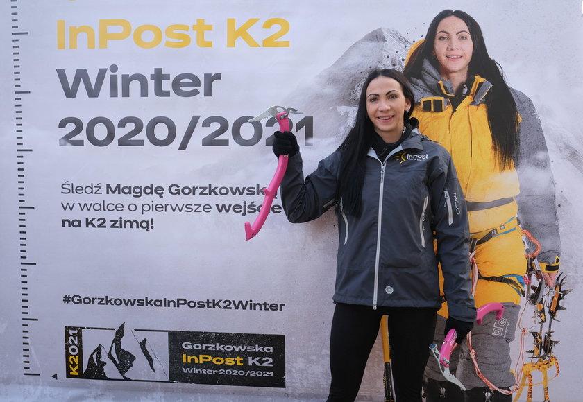 Gorzkowska musiała się wycofać przez bardzo poważne problemy z żołądkiem.
