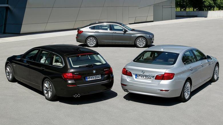 Rodzina serii 5 składa się z sedana i kombi, wersja GT ma pokrewną konstrukcję (patrz: galeria).
