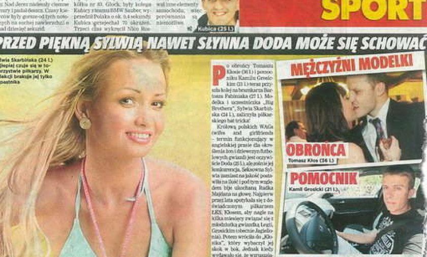 """Gwiazdka """"Big Brothera"""" kocha piłkarzy"""