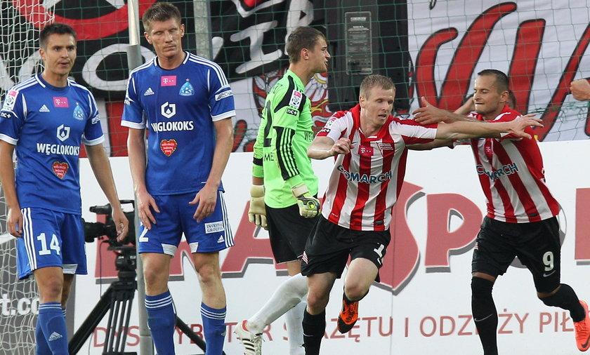 Mecz Cracovia Kraków Ruch Chorzów