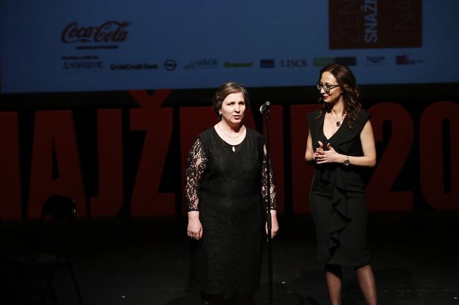 Danijela Petrović i Jelena Isaković, urednica Medija centra za ženski sadržaj kompanije