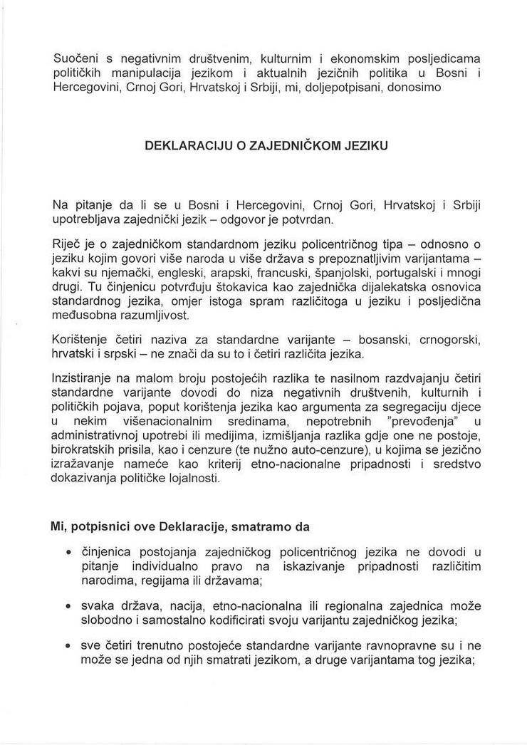 deklaracija
