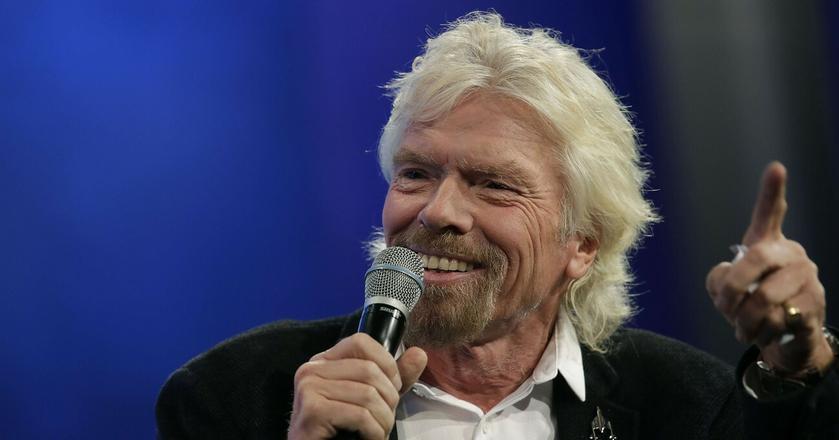Richard Branson stworzył obejmującą ok. 400 spółek Virgin Group, jest też autorem książek o przywództwie