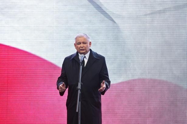Jarosław Kaczyński. Fot. Rafał Guz