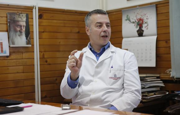 Marko Ercegovac, Urgentni centar