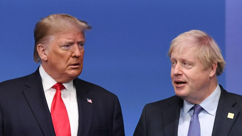 Donald Trump i Boris Johnson