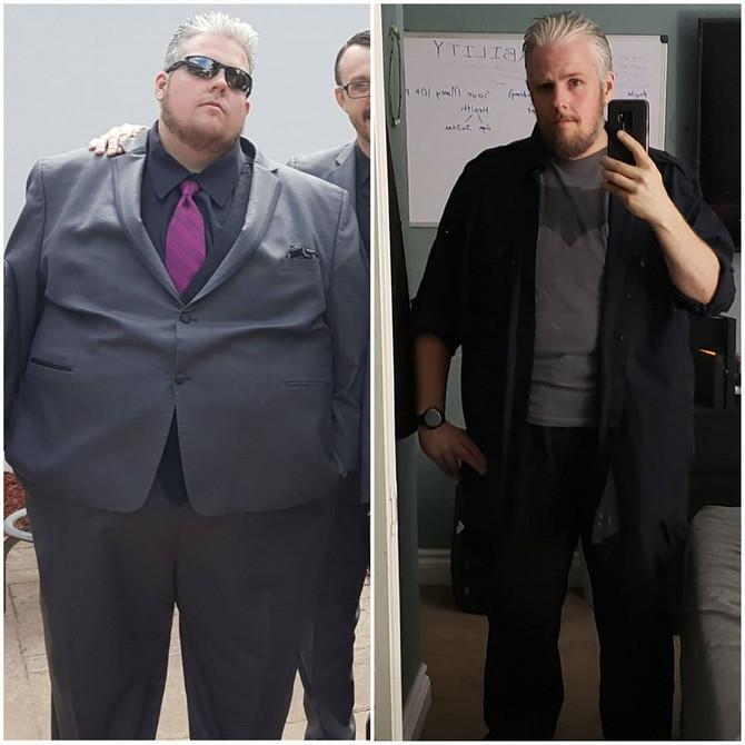 Brok Karou pre i posle mršavljenja