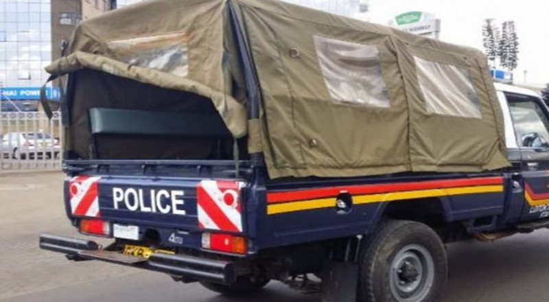 Police Land cruiser stolen from Nairobi found with AP officer