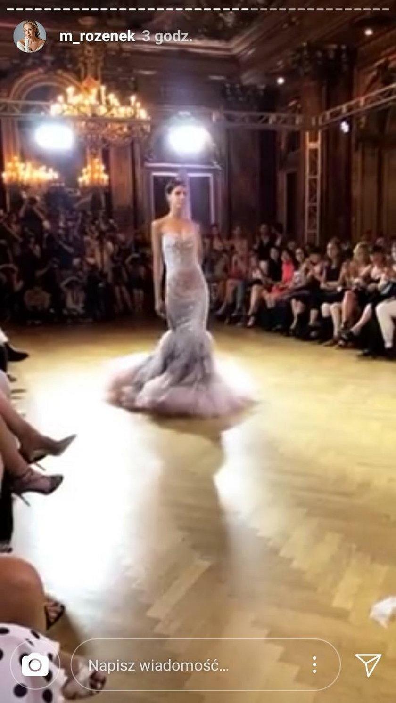 Pokaz Ewy Minge w Paryżu